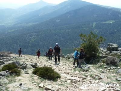 Cuerda de Cuelgamuros - Senderismo Ávila - Ruta Madrid; garganta del cares